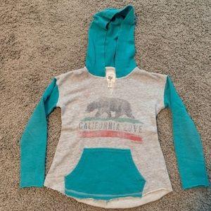 Billabong Girls hooded sweatshirt